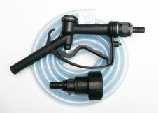 "IBC DELUXE DELIVERY NOZZLE KIT Fuel / Oil / Water. 3/4"" or 1"" Tails + Hose Pipe"
